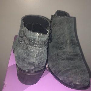 Xappeal gray booties brand new never worn